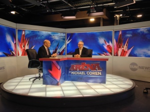 PR on The Arena with Michael Coren